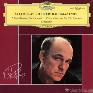 RACHMANINOV Piano Concerto No 2 und 6 Preludes Sviatoslav Richter