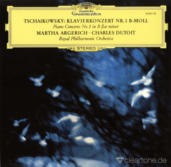 TCHAIKOVSKY Piano Concerto No 1 Martha Argerich