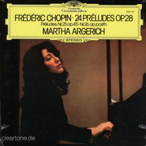 CHOPIN 24 Preludes Op.28 Martha Argerich