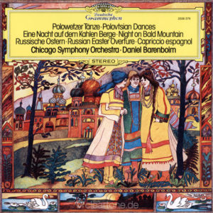 BORODIN Polovtsian Dances Night on Bald Mountain Daniel Barenboim