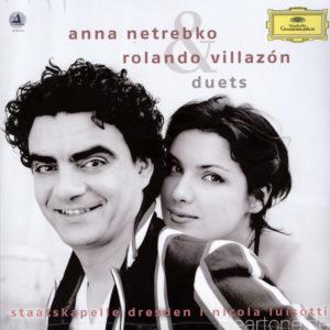 PUCCINI DONIZETTI VERDI BIZET duets Anna Netrebko Rolando Villazon
