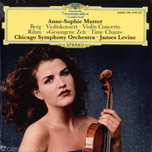 BERG RIHM Violin Concerto Anne-Sophie Mutter