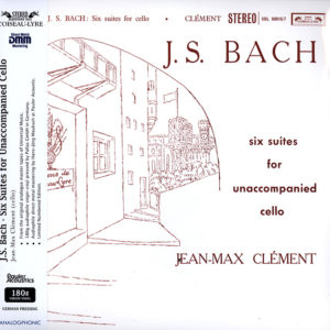BACH Jean-Mac Clement Six suites for unaccompanied cello
