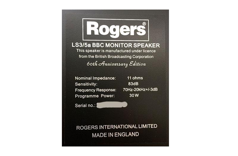 Rogers LS3/5A Japan